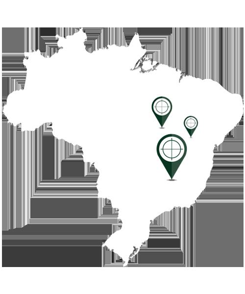 Mapa Franqueado